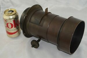 Dallmeyer 3A Patent Soft Focus f4 Giant 8x10 Brass Portrait Lens