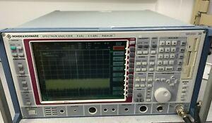 Rohde & Schwarz FSEA 20 Spectrum Analyzer , 9KHz - 3.5 GHz