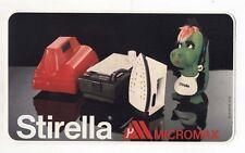 Adesivo STIRELLA MICROMAX PROMO pubblicità sticker anni 80 - 19,5 cm Drago