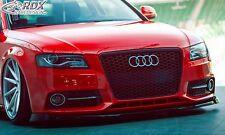 Lip spoiler,Bumper, Extension, Splitter,Front Spoiler AUDI A4 B8/B81 - True1Blue