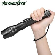 5Modes T6 50000LM LED 18650 Tactical Flashlight Zoomable Military Focus Torch