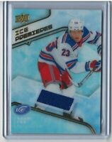 19/20 UD Ice Premieres Jersey #IPJ-AF Adam Fox RC [New York Rangers]