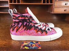 Converse Missoni Chuck Taylor All Star High Top Pink/Black 154441C Mens Size 9.5
