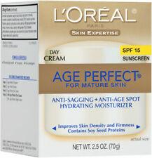L'Oreal Paris Age Perfect Facial Day Cream SPF 15 new in box