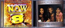 Now, Vol. 8 by Various Artists (CD) & This Is the Remix by Destiny's Child (CD)