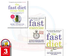 Dr Michael Mosley Fast Diet 3 Books Collection Set Pack AU