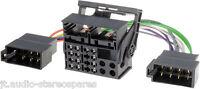 Bmw Car radio stereo headunit power wiring harness iso adaptor Oem Loom Lead