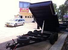 BRAND NEW TANDEM TIPPER 9X5FT AUTO HYDRAULIC DEEP SIDES 10X5 10X6 9X6 ALSO AVAIL
