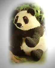 MR GIANT PANDA toy knitting pattern by GEORGINA MANVELL