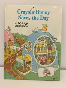 Crayola Bunny Saves the Day A Pop Up Storybook Hallmark Book
