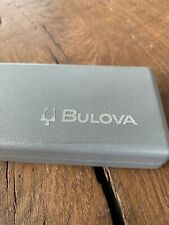 Vintage Bulova Uhrenbox Scatola Boîte Case Etui um 1975