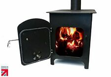 Heating Wood Burning Stove Log Burner Woodburner Fire Fireplace - Made in UK