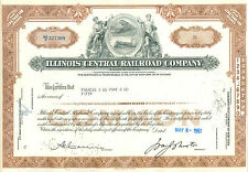 Illinois Central Rail Road Company 1961