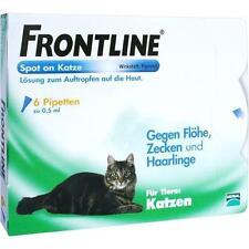 FRONTLINE Spot on K Lösung f.Katzen 6 St PZN 2246426
