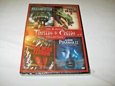 Thrills & Chills Vol 6, Franenfish / Lake Placid / Loch Ness Terror / Piranha 2