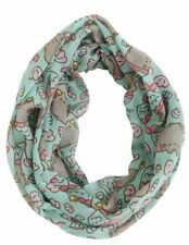Mermaid Pusheen print infinity scarf by Isaac Morris PU-52