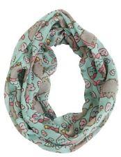 Mermaid Pusheen print infinity scarf by Isaac Morris PU-52