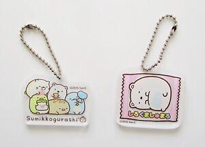Sumikko Gurashi cute kawaii acrylic stationery charms bag decorations
