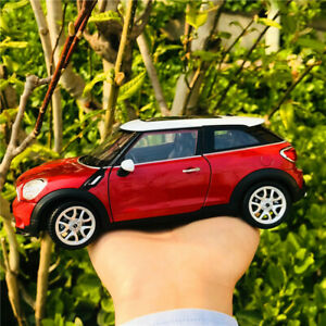 New WELLY 1:24 Mini Cooper S Paceman Diecast Car Model Alloy Collection Toys Red