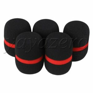 5pcs Handheld EY-M08B Microphone Windscreen Foam Mic Cover Windshield Pop Filter