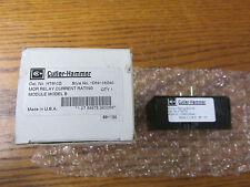NEU NOS Cutler Hammer HTM-0D Mor Relay Nennstrom Modul Modell B 1D89108G40