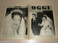 OGGI=1960/19=ROMEO VENTURELLI=JEAN BELLUS=GEORGE BRASSENS=LEONARDO DA VINCI NAVE