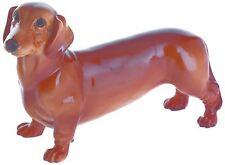 John Beswick standing Red Dachshund sausage dog ornament figure