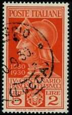 Italy 1930 stamps commemorative USED Sas 280 CV $192.50 180617260