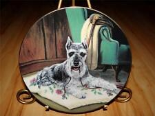 SCOTTISH TERRIERS DOG Puppy, Linda Picken, Time for a Walk, Hamilton Plate
