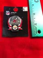 Pittsburgh Steelers AFC Champions Pin - New - NFL Licensed