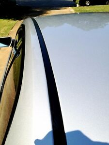 For 2000-2005 CHEVY IMPALA BLACK ROOF TOP TRIM MOLDING KIT