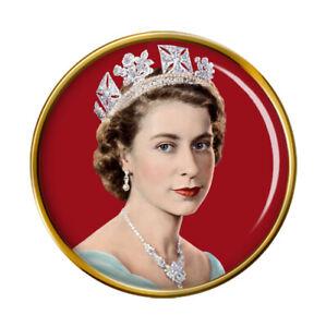 Young Queen Elizabeth II Pin Badge