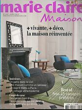 MARIE CLAIRE MAISON N° 460--BEST OF CANAPES/USTENSILES-TABLES BIEN DRESSES