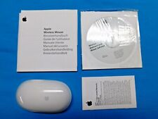 APPLE MOUSE MODEL A1296 IN BOX ~ USED FOR LESS THAN 30 DAYS ~ WORKS AS SHOULD