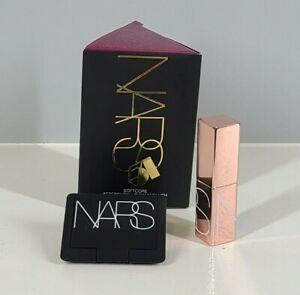 NEW NARS Softcore Afterglow Lip Balm & Mini Blush SET Orgasm 0.03oz. & 0.12oz