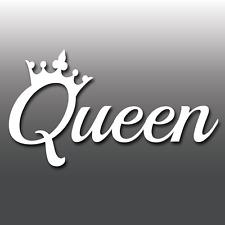 Queen Funny Laptop/Car/Van/Bike Window Bumper JDM Euro Dub Vinyl Decal Sticker