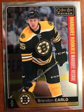 2016-17 UD Opee Chee Platinum Marquee Rookie #163 Brandon Carlo Pack Fresh