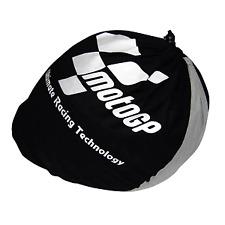 MotoGP Official Product Motorcycle Helmet Protector Drawstring Bag Black & Grey