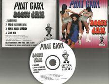 PHAT GARY Booty Jam 4TRX RADIO TRX & MIXES & INSTRUMENTAL & CLUB CD Single