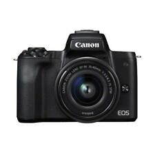 """CrazyBoss"" Canon EOS M50 15-45mm 24.1mp 3"" DSLR Camera New Cod Agsbeagle"