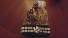 Toronto Maple Leafs Old Time Hockey Camo   Hat Cap Tuque Mens Size New NWT