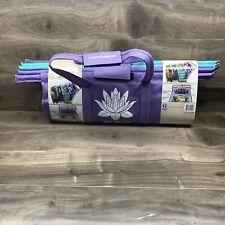 Lotus Trolley Bags -set of 4 -w/LRG COOLER Bag & Egg/Wine holder! Reusable Gr...