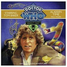 DOCTOR WHO - ALADDIN TIME - TOM BAKER CD SCI FI AUDIO BOOK