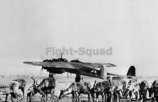 WW2 Picture Photo Dornier Do-217 bomber on an airfield in Finland 1234