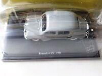 RENAULT 4 CV 1946    -  1/43EME - NEUF SOUS BLISTER !!