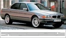 BMW e38 alpina estilo rayas finas en rayas laterales 730, 735, 728, 740, 760, 750