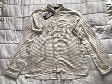 Womens B Young Striped Shirt Size 40 BNWT