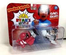 NEW Ryan's World RACERS 2-Pack Red Plane SKY FIGHTER White ROCKET SHIP Space Car