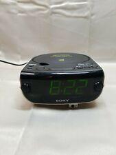 Sony Icf-Cd815 Dream Machine Am/Fm Alarm Clock Radio Cd Player Tested And Works