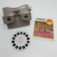 Vintage 50s/60s Sawyers View-Master Model G Large Diffuser Beige/Tan & Demo Reel